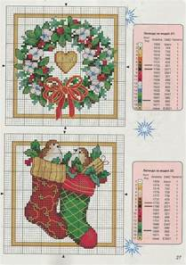 25 best ideas about christmas cross stitches on pinterest