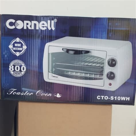 Toaster Cornell bnib cornell 9l toaster oven cto s10wh kitchen