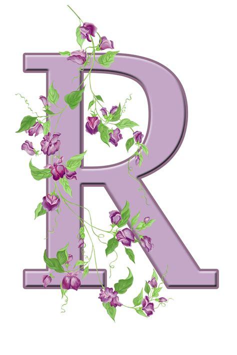 letter r floral initial kostenloses stock bild public