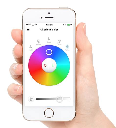 App Controlled Lighting by Easybulb Iphone And Android Controlled Wifi Light Bulb