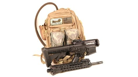 Gun Bag Tss2t testing a custom ar with a cry havoc tactical qrb kit