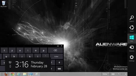 alienware themes for windows 8 1 free download 2013 alienware rainmeter windows 7and 8 theme ouo themes