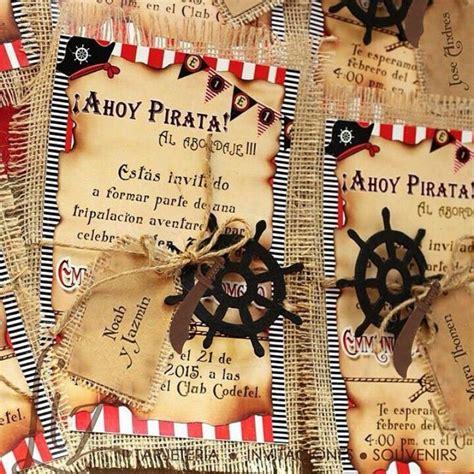fiestas tem ticas fiesta pirata las invitaciones y la las 25 mejores ideas sobre invitaciones de fiesta pirata