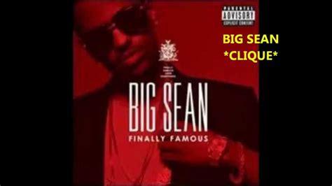 big sean clique lyrics big sean clique hd official version with 0 audio youtube