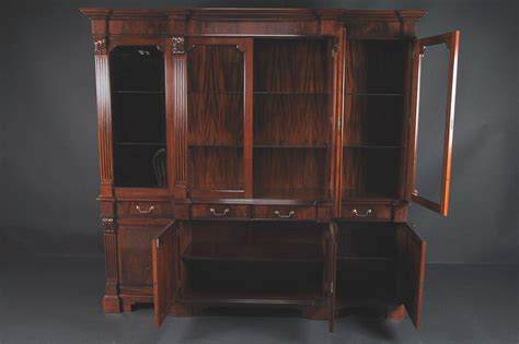 antique mahogany china cabinet mahogany china cabinet high end antique reproduction