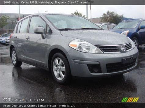 2008 nissan versa interior magnetic gray 2008 nissan versa 1 8 sl hatchback