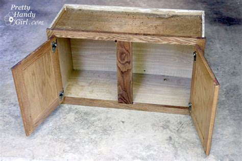 how to make a storage bench how to make a shoe storage bench out of a habitat restore