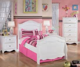 girls white twin bed exquisite twin sleigh bed ashley furniture