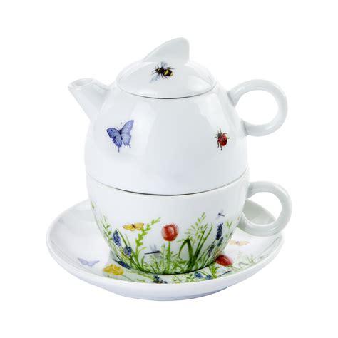 con fiori e farfalle teiera con tazza collezione fiori e farfalle aboca e shop