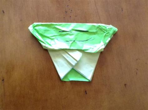 Origami Cover Yoda - my own cover yoda origami yoda