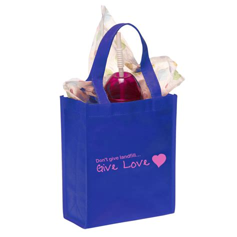 small gift bags custom promotional bulk printed non woven small gift bags