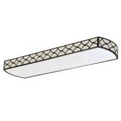 Decorative Fluorescent Kitchen Lighting Capistrano 4 Ft 4 Light T8 Fluorescent Linear Decorative