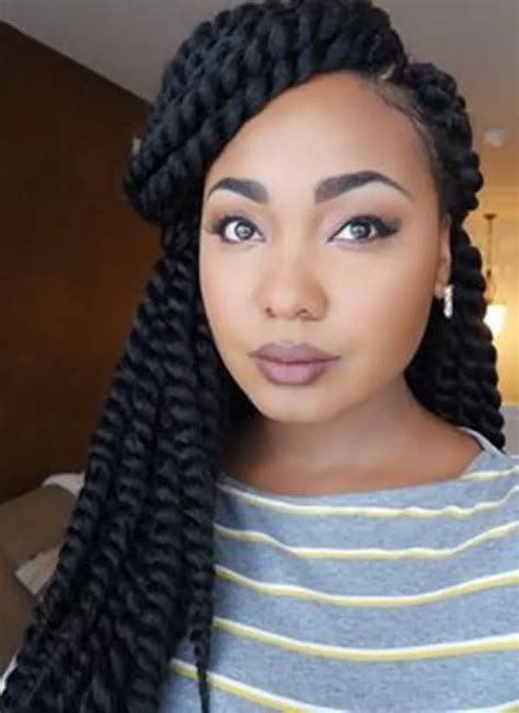 braided hairstyles for women with high foreheads and round face best box braids hairstyles in ghana 2018 yen com gh