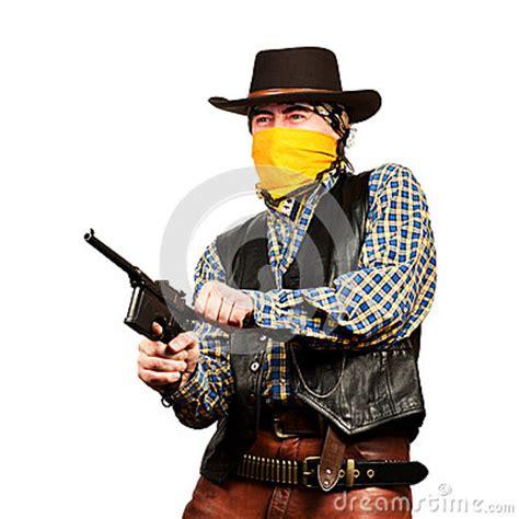 wild west bank robbery stock photo image