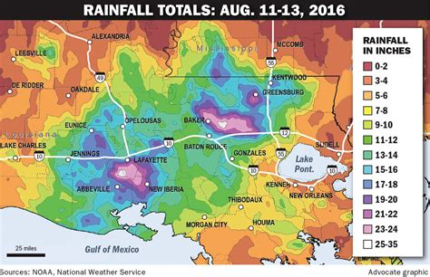 louisiana flooding map 2016 anatomy of the flood hurricane in infancy was fueled by