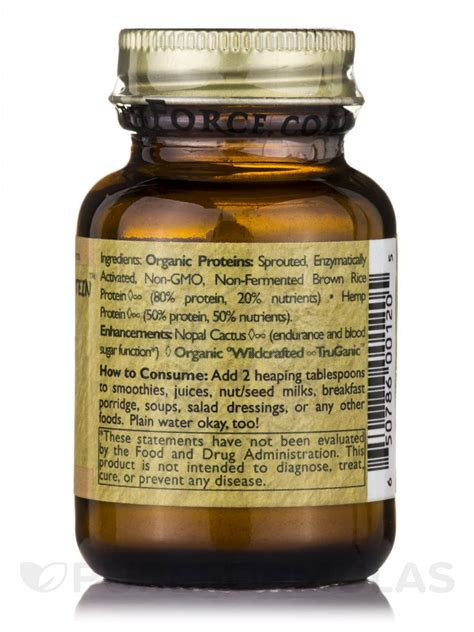 protein 20 grams purity protein 0 71 oz 20 grams