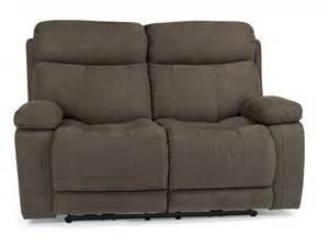 flexsteel living room fabric power reclining loveseat 1484