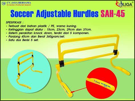 Team Set Sepakbola Isi 18 Stell soccer adjustable hurdles sah 45 distributor alat olahraga