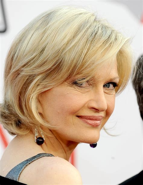 short hairstyles for women with no neck diane sawyer is not a robot but sometimes works like one