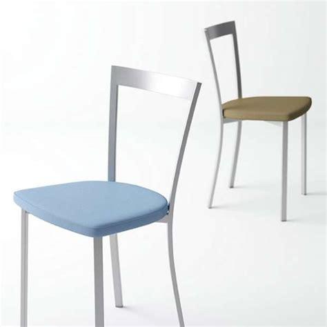 chaise de cuisine moderne chaise de cuisine moderne en synth 233 tique et m 233 tal spirit