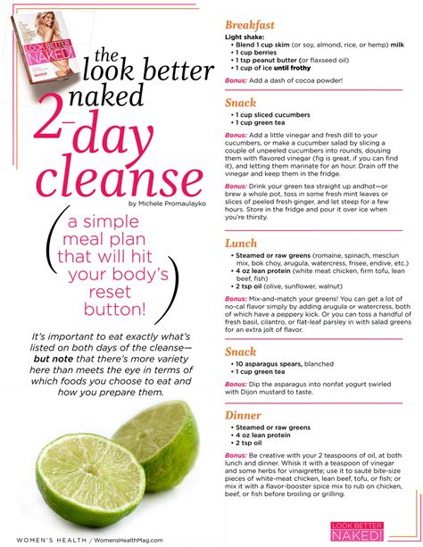 detox cleanse diet look better 2 days cleanse positivemed