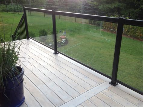 Tempered Glass Railing tempered glass panels for deck railing we took a number of photos in different light to attempt