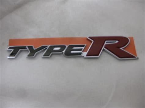 Emblem Honda Genuine Parts purchase honda civic rear type r emblem fn2 genuine jdm motorcycle in shizuoka jp for us 37 00