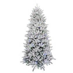 Artificial Tree Prelit - home accents 4 5 ft pre lit potted artificial