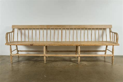 deacons bench furniture 19th century deacon s bench at 1stdibs