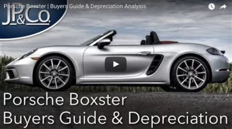 the depreciation curve which is the best boxster