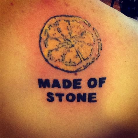 stone roses lemon tattoos and art pinterest