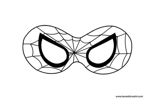 Printable Spider Mask Template | best photos of printable eye mask template spider man