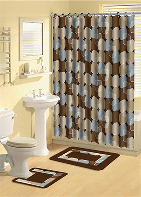 bathroom rug and shower curtain sets home dynamix bath boutique shower curtain and bath rug set 339 metro lights shower