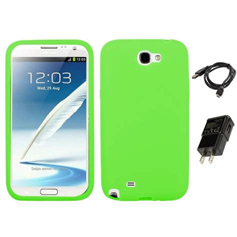 Silicon Casing Softcase Standing Samsung Note 2 N7100 for samsung galaxy note 2 n7100 silicone skin rubber soft cover charger ebay