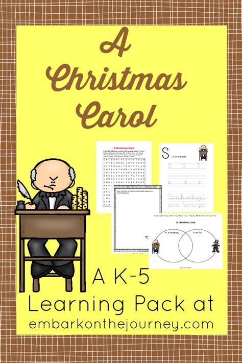 printable version of a christmas carol free christmas carol printable learning pack