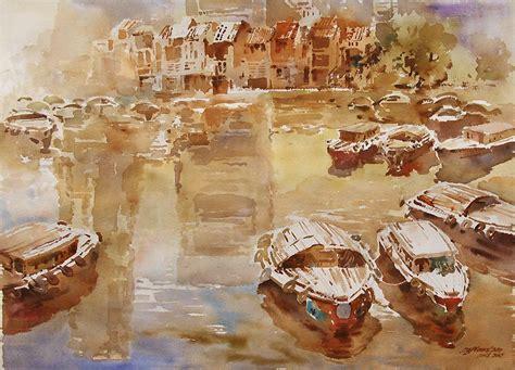 the mask boat quay woon lam ng акварели эпоха возрождения