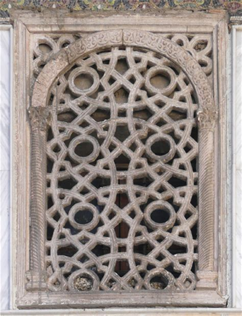grill design for masjid geometrical ornamentation at the omayyad mosque det