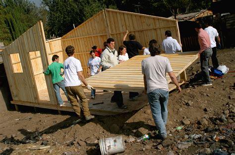 un techo para chile fundaci 243 n techo chile trabaja en tres comunas de la