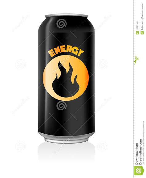can u drink energy drinks when energy drink can stock vector image of beverage