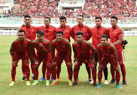 Timnas Indonesia ini jadwal siaran langsung timnas u 22 di sea 2017