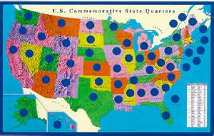 State Quarter Map by State Quarter Map Related Keywords Amp Suggestions State