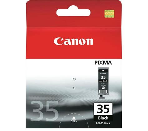 Canon 35 Ink Cartridge Black buy canon pgi 35 black ink cartridge free delivery currys
