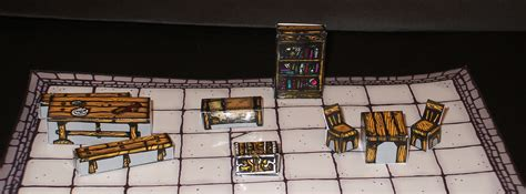 D D Upholstery inked adventures 3d furniture for dungeons inked