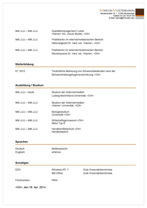 Lebenslauf Vorlage Lehrstelle Sterreich bewerbungsservice aktiv professionelle muster vorlagen