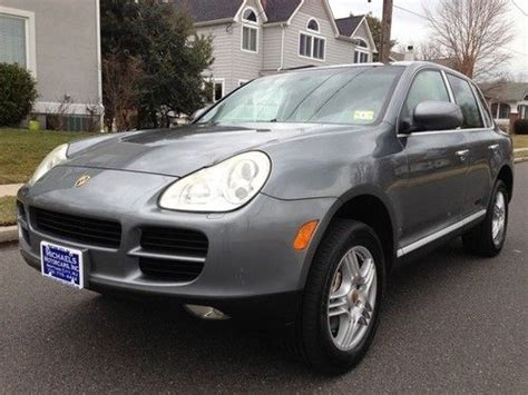 sell used 2004 porsche cayenne s automatic 4 door suv in