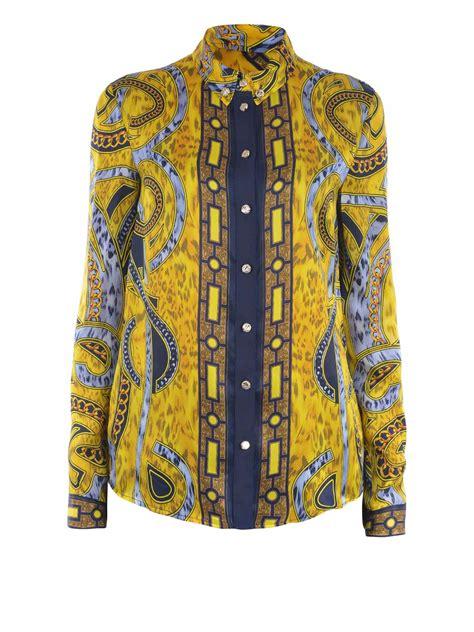Versace Ori printed silk classic shirt by versace shirts ikrix