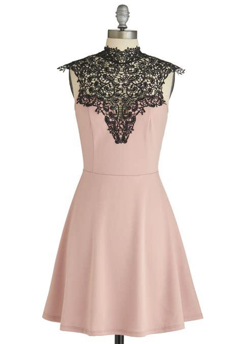 Nagita Dress Black Dress 0116 Sm smart mauve dress mod retro vintage dresses modcloth
