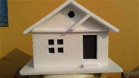 how to make thermocol bungalow house model school project download video how to make thermocol bungalow house model