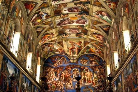 The Painting On The Ceiling Of The Sistine Chapel by Sistine Chapel Ceiling Painting Home Design Ideas