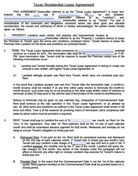 apartment lease agreement template beepmunk